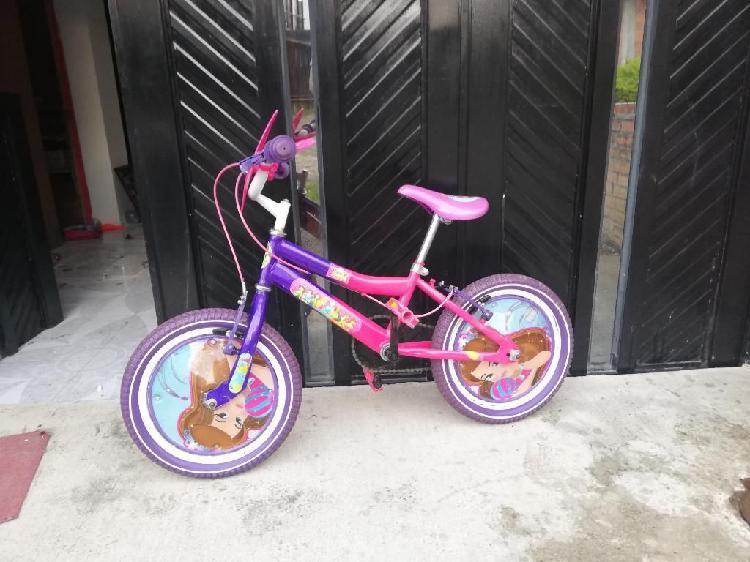 Bicleta para niña