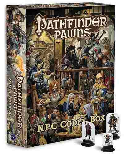 Juego rol pathfinder: caja códice npc personaje no jugador