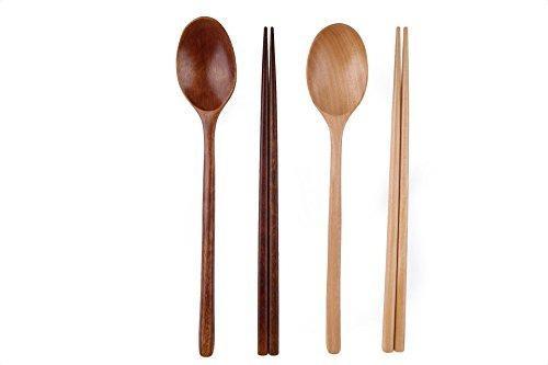 Shenran corea cuchara de madera cuchara palillos vajilla com
