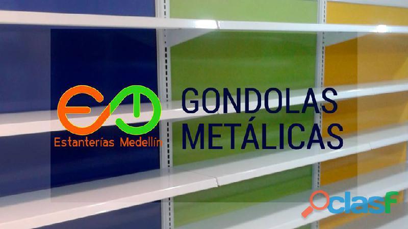Gondolas y estanterias para supermercados colombia todometal cr en medellin