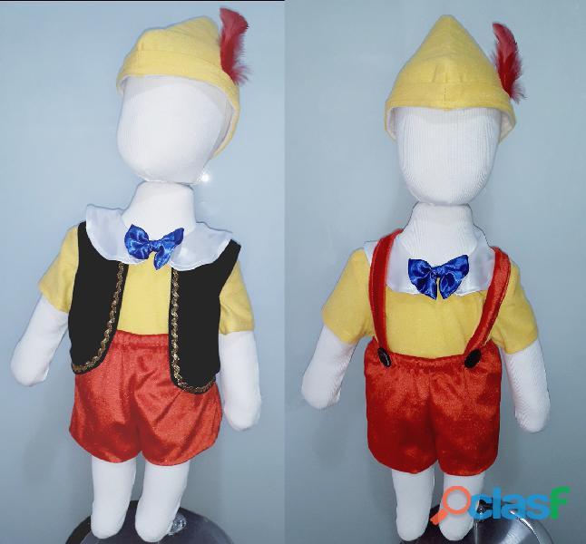 Venta de disfraces de pinocho nuevos para niños pequeños