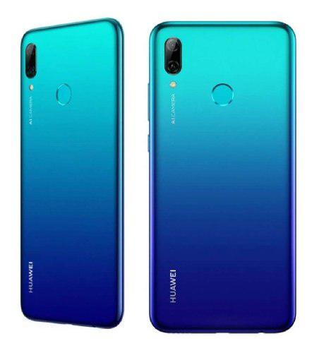 Celular huawei p smart 2019 azul /32gb /4g /13mp 8mp + forro