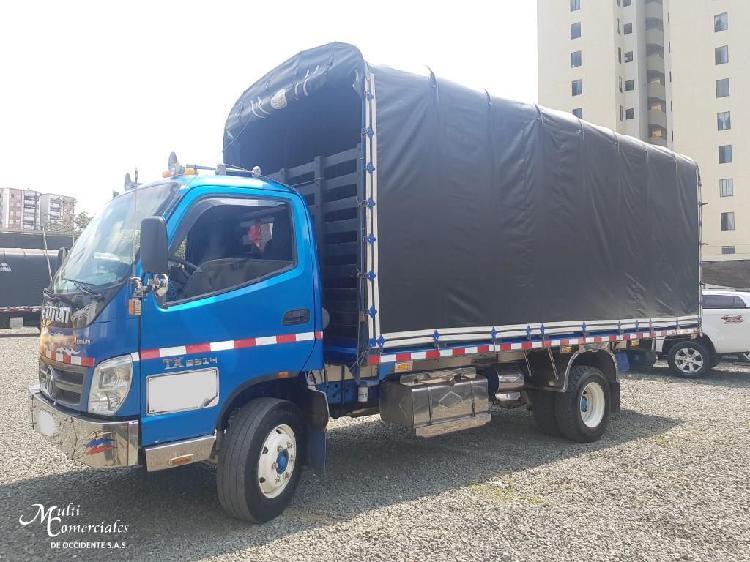 Foton bj1069, 4.5 ton,estacas, mod 2014