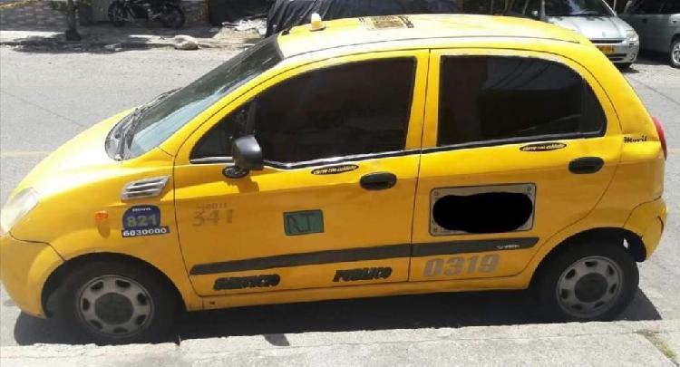 Taxi con cupo spark 2010