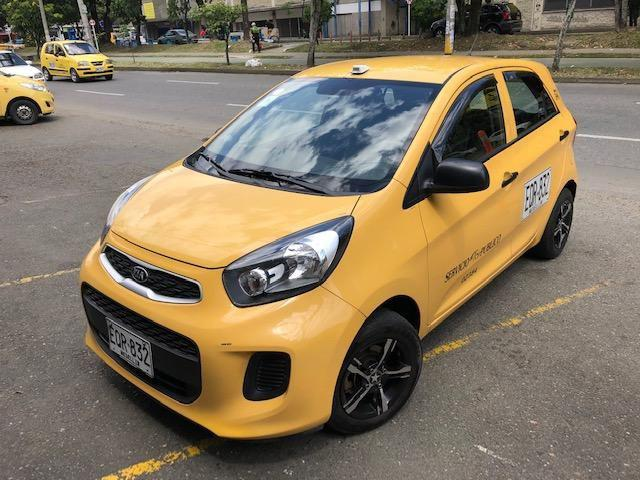 Taxi kia ion modelo 2017 ctm