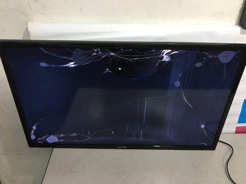 Tv kalley led de 32 k-led32hdt2 pantalla rota prende
