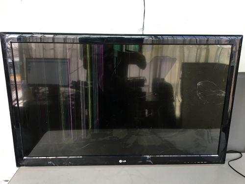 Tv lg led 42ls3400 pantalla rota repuestos prende