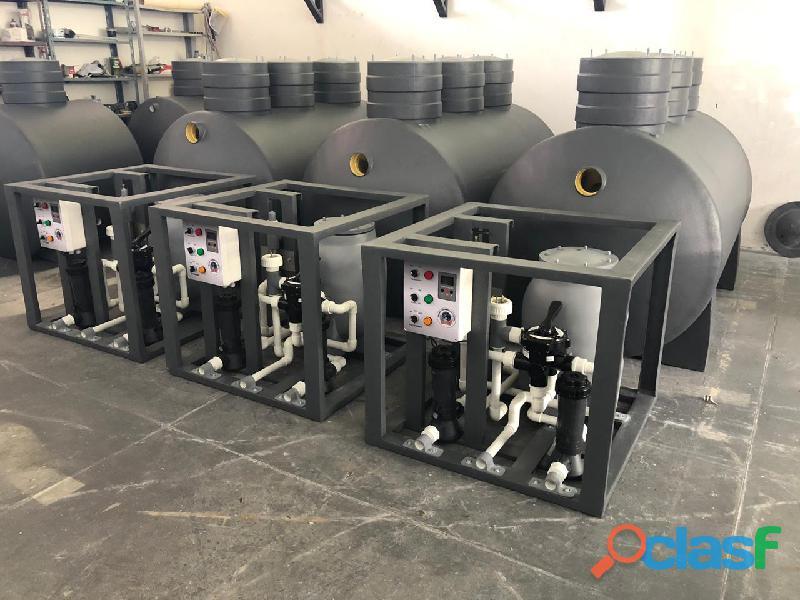 Fabricaciones de plantas de tratamiento de aguas residuales