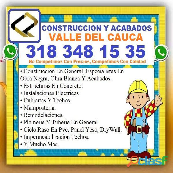 ⭐ albañil cali, palmira, maestro de obra, plomero, electricista, pintor, enchapador, construccion, c