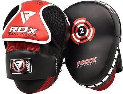 Almohadillas de boxeo rdx foco de saco de boxeo gancho y gu