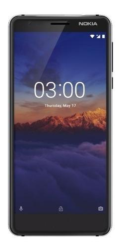 Celular nokia3.1 android 16gb singlesim4g negro