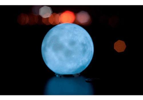 Lampara de luna 3d led - moon lamp