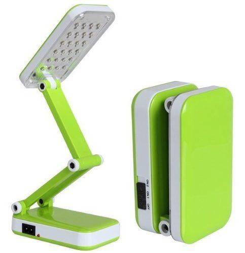 Lampara led recargable escritorio plegable portatil mnr p