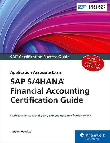 Libro sap s/4hana financial accounting certification guide