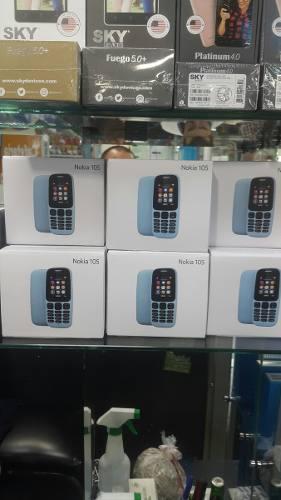 Nokia 105 radio linterna nuevo original libre todo operador