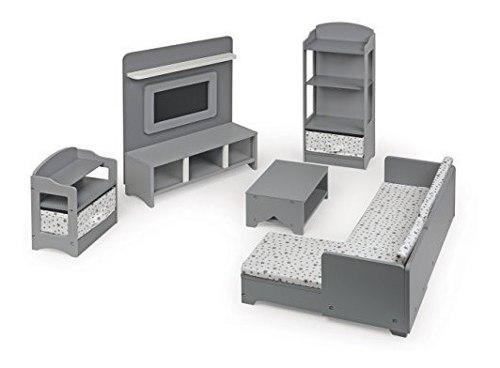 Tejón cesta 10 piezas muebles de sala de medios de comunica