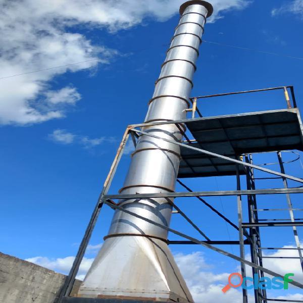 Extractores industriales   ventilación industrial   mantenimiento