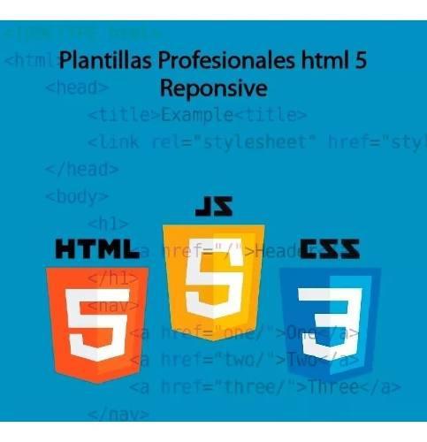 500 plantillas web profesionales responisve html5