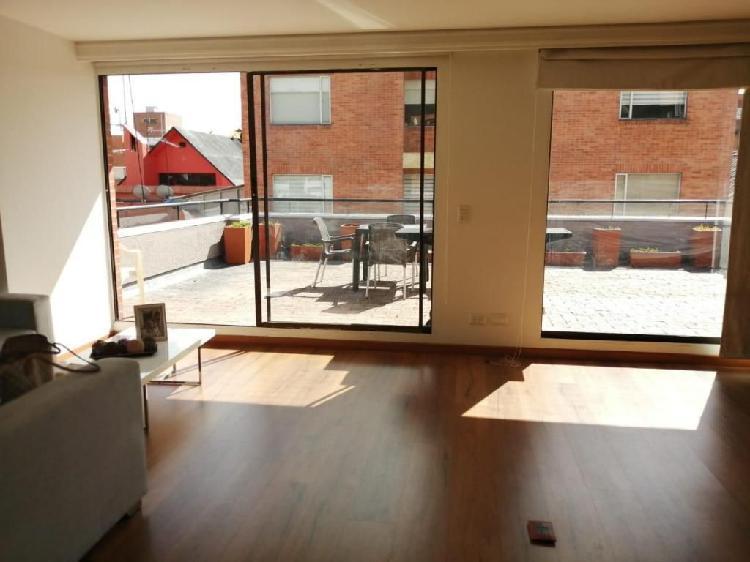 78601 - vendo apartaestudio con terraza de 46 metros en