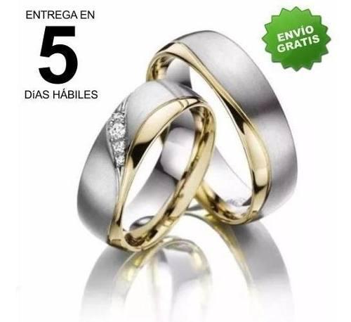 inteligencia rodear historia  Argollas matrimonio oro plata 【 REBAJAS Noviembre 】 | Clasf