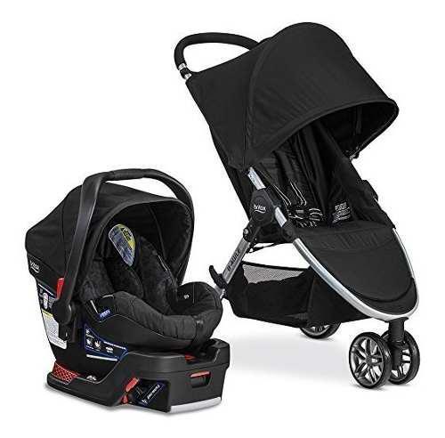 Britax b-agile b-safe black 35 elite coche silla carro bebe