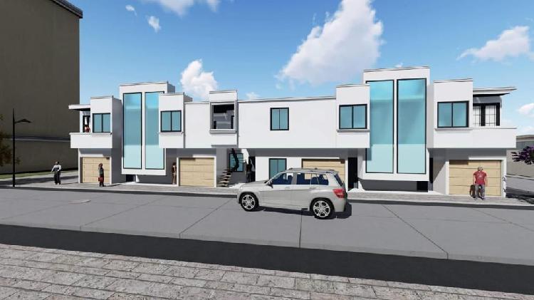 Casas nuevas en el barrio los caciques