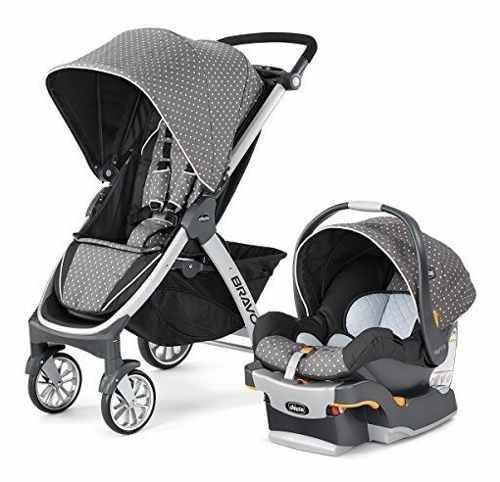 Chicco bravo trio travel system lilla coche + silla bebe