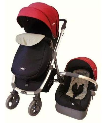 Coche moderm priori moises+silla carro+base babys beautiful