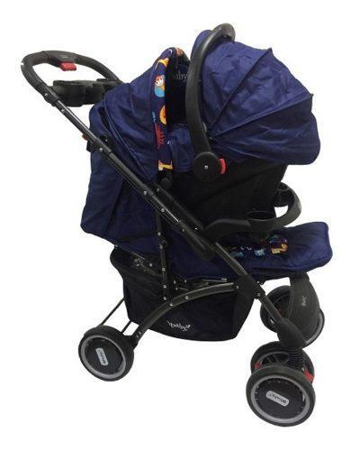 Coche para bebé + silla para carro portabebé y mesedora