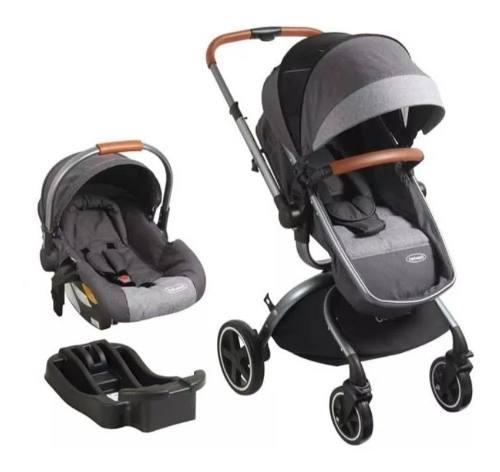 Coche tipo moises + silla para carro 360 bebesit