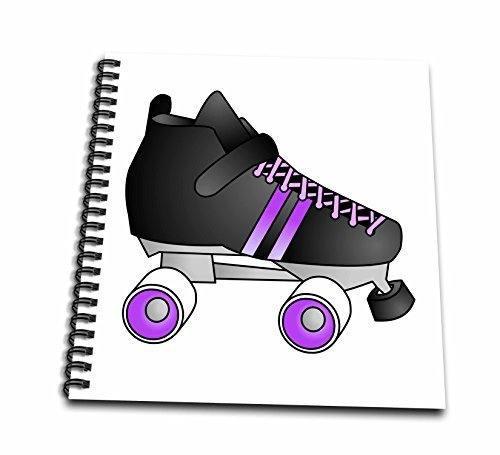 Janna salak diseños roller derby regalos patinaje negro y