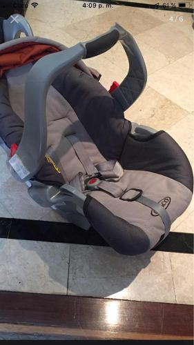 Silla carro bebé gracco