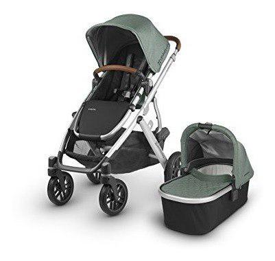 Uppababy vista emmett travel system coche + silla bebe