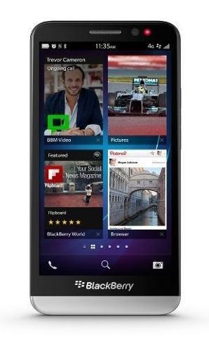 Blackberry teléfono móvil abierto z30, 16gb, negro