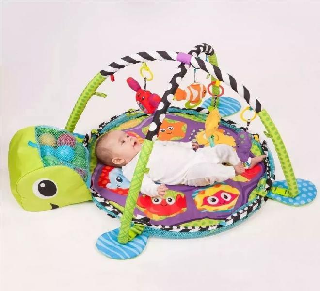 Gimnasio bebe piscina pelotas corral 3 en 1- muñecos movile