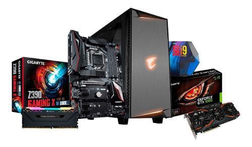 Pc gamer intel i9 9900k + ram 16gb + gtx 1080 8gb + ssd 1tb