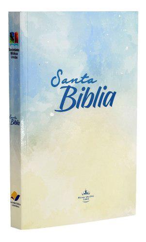 Biblia misionera reina valera 1960 delgada - blanca
