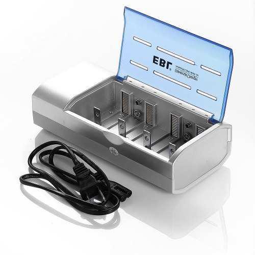 Cargador De Batería Ebl Para Pilas Recargables De Tamaño