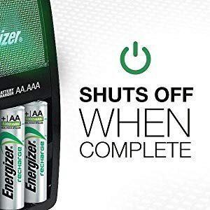 Cargador Para Baterias Recargables Maxi Energizer 3255