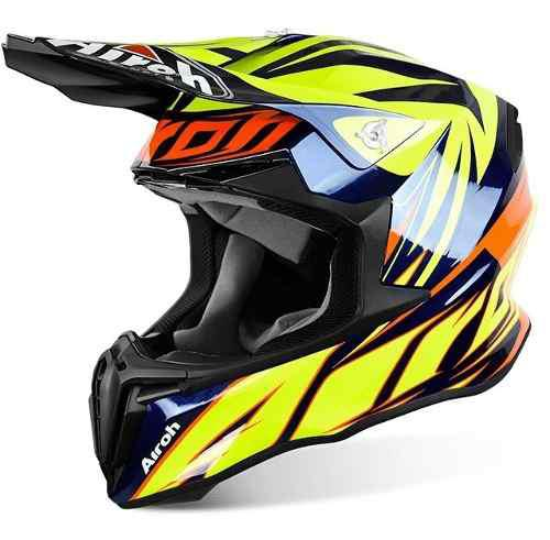 Casco airoh twist evil motocross cross enduro off road