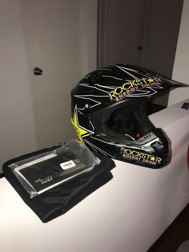 Casco motocross/enduro fox v1 talla m