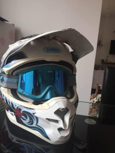 Casco shoei motocross enduro spm