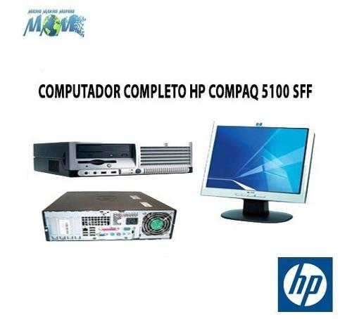 Computador completo hp compaq dc5100 sff