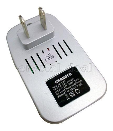 Un Cargador Pila Since 3v Cr2 15270 Recargable Bateria 1