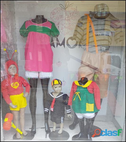 Venta de disfraces nuevos de los personajes del chavo del 8 para niños en itagui