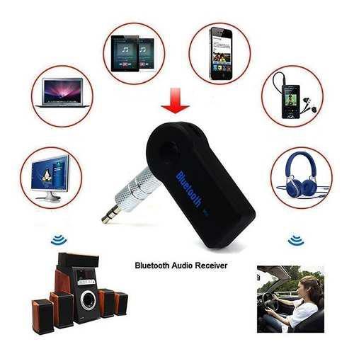 Adaptador bluetooth convertidor recargable manos libre music