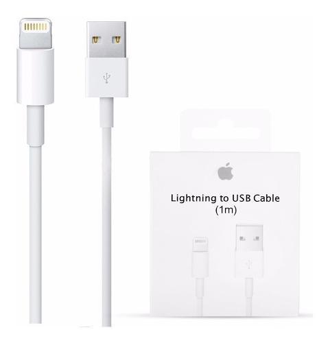 Cable usb lightning apple original iphone 8 7 6s 5 envio gra