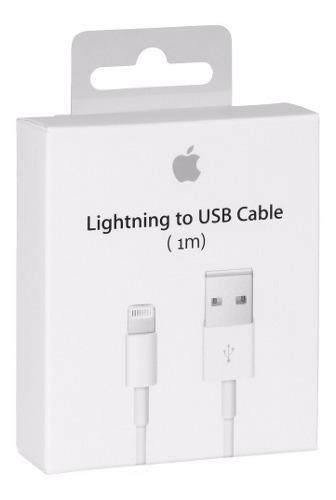 Cable usb iphone original 100% apple 6 7 8 plus x lightning