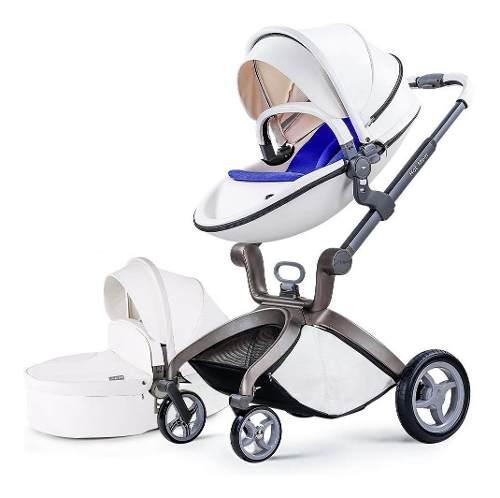 Coche bebé hot mom para viaje, color blanco - envío gratis