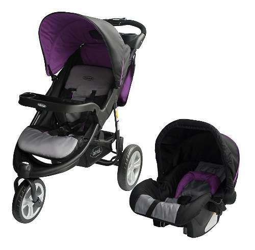 Coche para bebe travel system 3 ruedas jogger fox bebesit